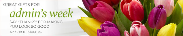 Administrative Professionals Day (formerly Professional Secretary's Day) is observed during the week of April 19-25.
