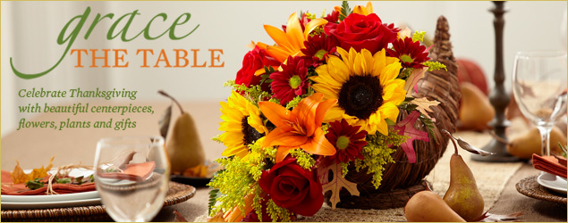 Thanksgiving flowers and gift by Royal Fleur Florist, Larkpsur CA