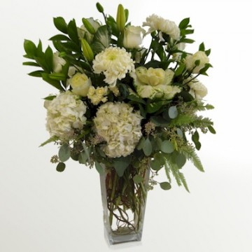 The Tall Fresh Green Bouquet - Click Image to Close