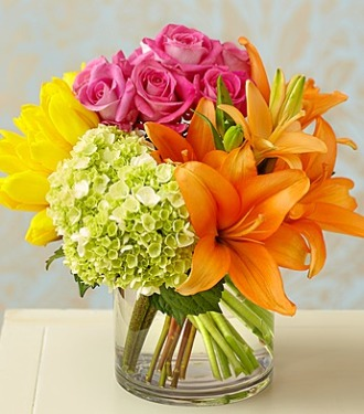 Colorburst of Spring Bouquet - Click Image to Close