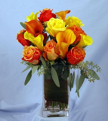 Roses and Mini Callas Bouquet