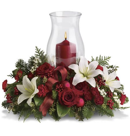 Holiday Simplicity Centerpiece