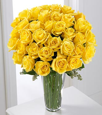 Yellow rose bouquet 3 dozen royal fleur florist larkspur ca 94939 larger image mightylinksfo