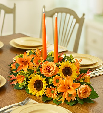 A Field of Europe For Fall Centerpiece