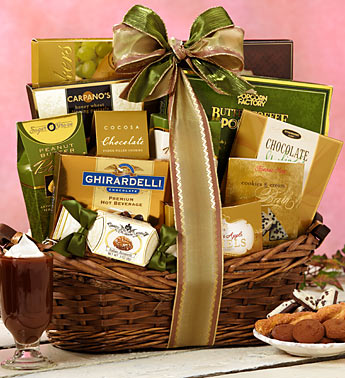 Woodland Pines Gourmet Gift Basket - Click Image to Close