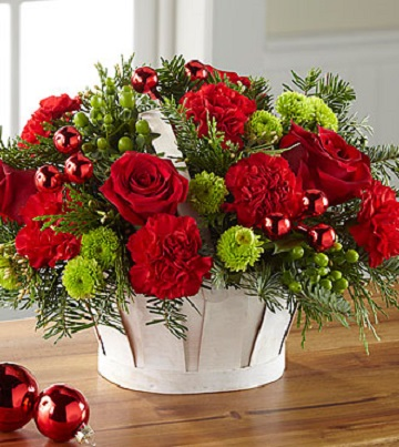 Christmas Wishes Basket - Click Image to Close