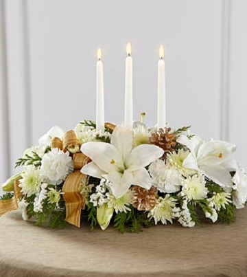Season's Glow Centerpiece - Click Image to Close