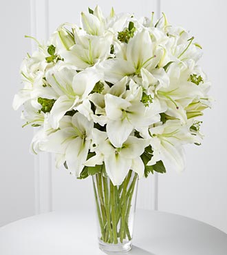 Spirited Grace Lily Bouquet - Click Image to Close