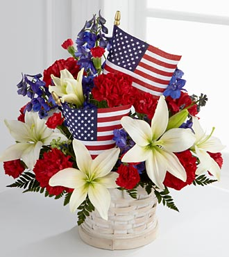 American Glory Bouquet - Click Image to Close