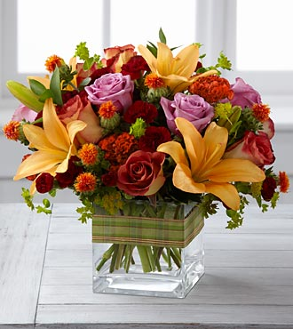 The Autumn's Arrival Bouquet - Click Image to Close