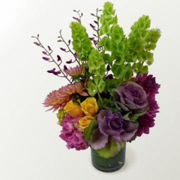 The Bells And Kale Bouquet - Click Image to Close