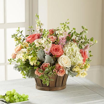 Bountiful French Garden Bouquet
