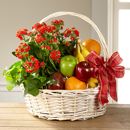 Garden's Paradise Fruit Basket
