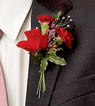 The Slow Dance Boutonniere