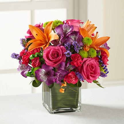 Birthday Cheer Bouquet - Click Image to Close