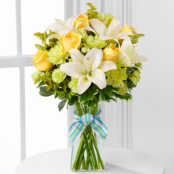 Boy-Oh-Boy Bouquet - Click Image to Close