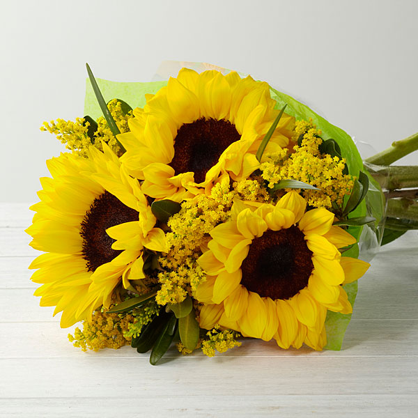 A Sunshine Daydream Hand Tied Bouquet - Click Image to Close