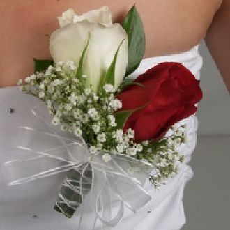 Double Rose Pin On Corsage