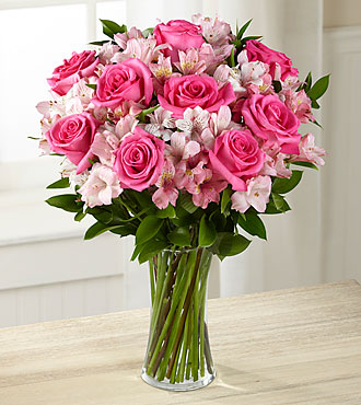 Dreamland Pink Bouquet - Click Image to Close
