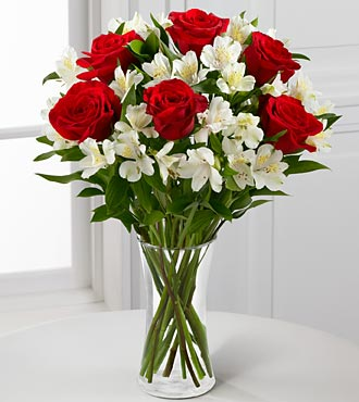 The So Romantic Valentine's Day Bouquet - Click Image to Close