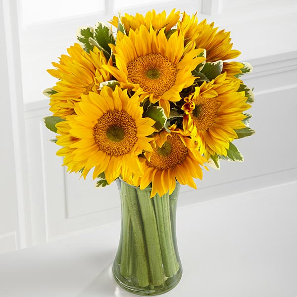 Endless Summer Sunflower Bouquet - Click Image to Close