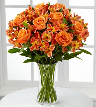Orange Burst Bouquet - Click Image to Close