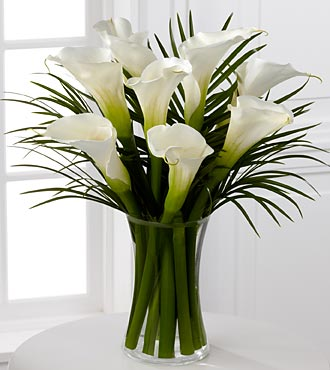Endless Elegance Calla Lily Bouquet - Click Image to Close