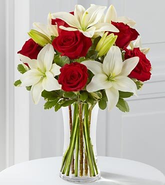The My Everything Rose & Lily Bouquet - Click Image to Close