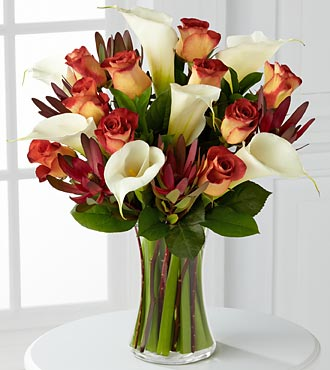 Autumn Grandeur Bouquet - Click Image to Close