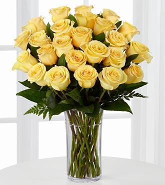 Pasion For Sunshine Rose Bouquet - Click Image to Close