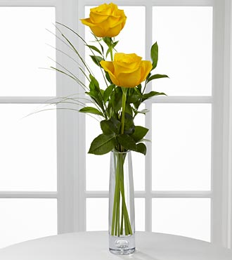 Legendary Roses Yellow Ros Bouquet - Click Image to Close
