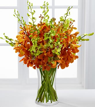 Daybreak Luxury Orchid Bouquet - Click Image to Close