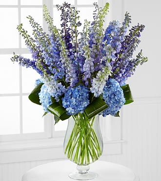 Luxury Delphinium Bouquet