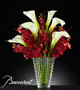 Rush of Beauty Bouquet with Baccarat - Click Image to Close