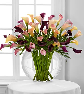 Flawless Luxury Calla Lily Bouquet - Click Image to Close