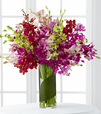 Luminous Luxury Orchid Bouquet - Click Image to Close