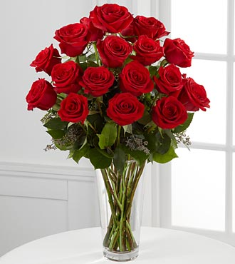 18 Red Roses - Red Roses Bouquet