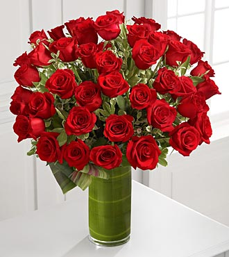 Fate Luxury Rose Bouquet - 48 Roses - Click Image to Close