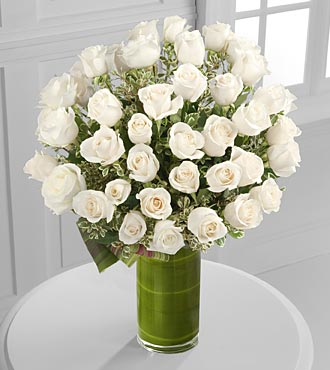 Clarity Luxury Rose Bouquet - Click Image to Close