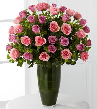 Serenade Luxury Rose Bouquet - Click Image to Close