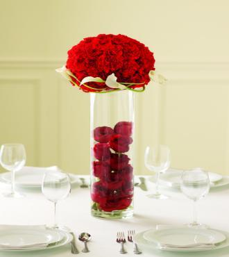 The Rose Topiary Centerpiece - Click Image to Close