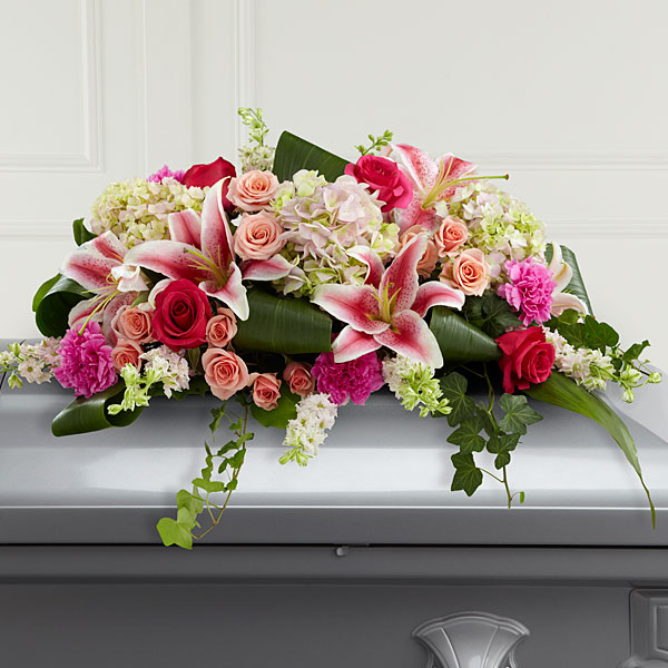 Splendid Grace Casket Spray - Click Image to Close