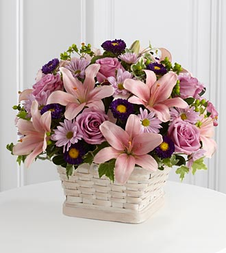 Loving Sympathy Basket - Click Image to Close