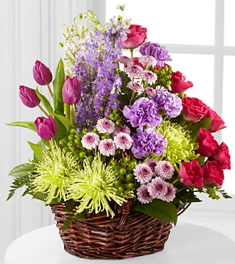 Truly Loved Basket - Click Image to Close