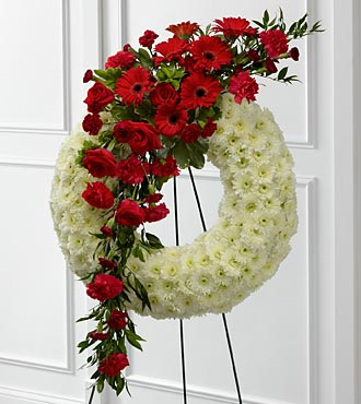 Graceful Tribute Wreath - Click Image to Close