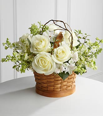 Peaceful Garden Basket - Click Image to Close