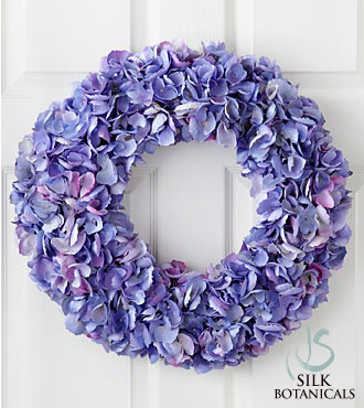 Hydrangea Wreath - Click Image to Close