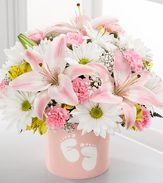 Sweet Dreams Bouquet - Girl - Click Image to Close