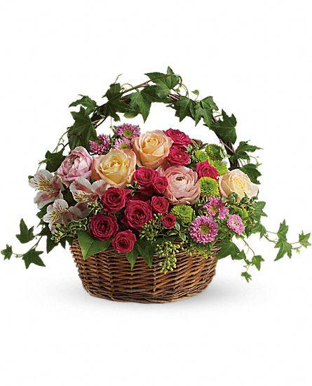 Fairest of all flowers basket royal fleur florist larkspur ca 94939 fairest of all flowers basket larger image mightylinksfo