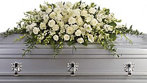 Purity And Peace Casket Spray - Click Image to Close